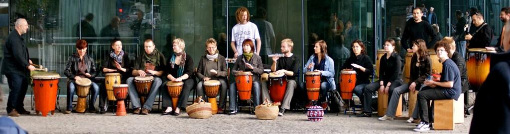 Bębny - oprawa muzyczna imprez